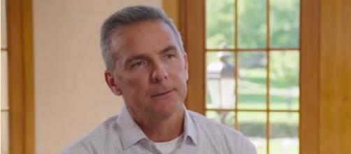 Urban Meyer criticizes Nebraska Huskers, talks about Adrian Martinez & JD Spielman. [Image Source: ESPN College Football/ YouTube Screenshot]