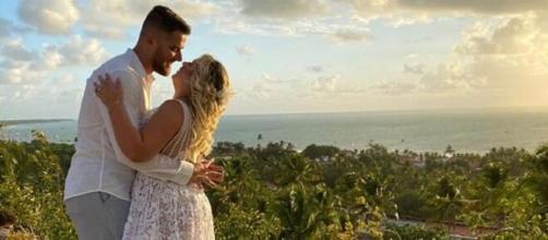 Zé Neto e Natália Toscano celebram casamento. (Reprodução/Instagram/@zeneto)