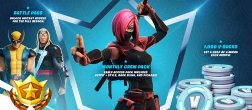 'Fortnite Battle Royale' might be getting monthly subscriptions. [Image Source: In-game promo screenshot]