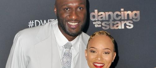 Lamar Odom y Sabrina Parr celebran su aniversario de compromiso. - pagesix.com