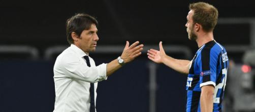 Inter, Conte pone Eriksen in uscita.