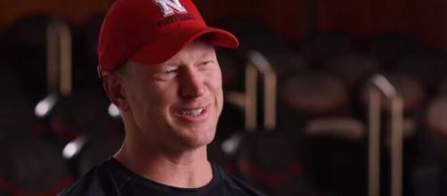 Nebraska Huskers: Scott Frost shows his support for QBs ahead of game against Penn State . [Image Source: ESPN/ YouTube Screenshot]