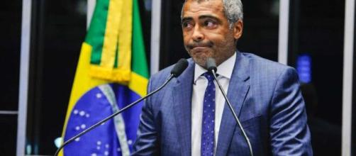Romário é atualmente Senador pelo estado do Rio de Janeiro. (Arquivo Blasting News)