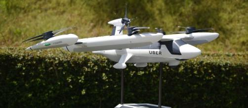Uber and Hyundai unveil plans for air taxi. [Image source/NBC News YouTube video]