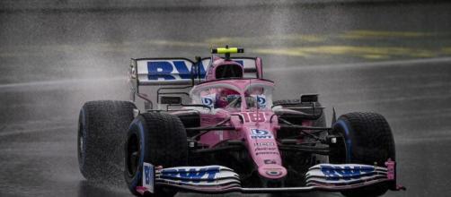 F1, GP Turchia. pole di Stroll sotto il diluvio