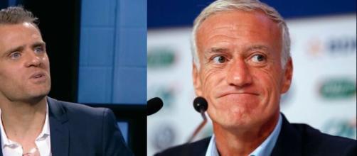 Jérôme Rothen tacle Didier Deschamps et demande du respect pour le PSG. Montage Photo