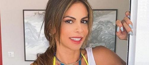 Apontada como affair de Marlon, Maria Clara nega que foi pivô de separação. (Reprodução/Instagram)