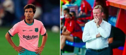 Au FC BARCELONE : Riqui Puig like un tweet qui fustige la gestion de Koeman - Photos Instagram Puig et FC Barcelone