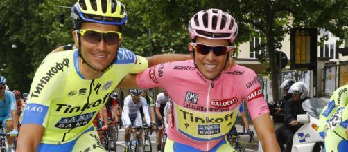 Ivan Basso e Alberto Contador: nel 2021 la loro Eolo Kometa sarà Professional.