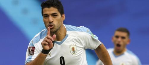 Luis Suárez do Uruguai é o artilheiro dessa edição da Eliminatórias para a Copa do Mundo, com 4 gols marcados