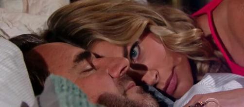 Beautiful, spoiler al 28/11: Ridge fa pace con Brooke, Flo confessa a Wyatt di amarlo.