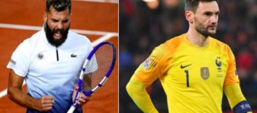 Benoit Paire et Hugo Lloris - Photo montage