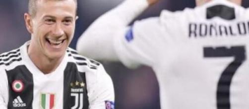 Federico Bernardeschi, centrocampista offensivo della Juventus.