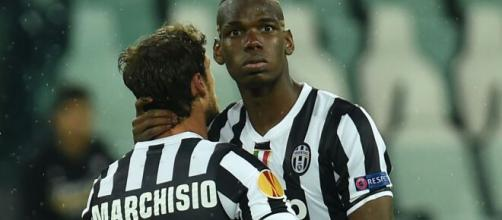 Il messaggio di Marchisio a Pogba