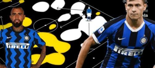 Inter, Barella e Vidal nel 3-5-2 di Conte.