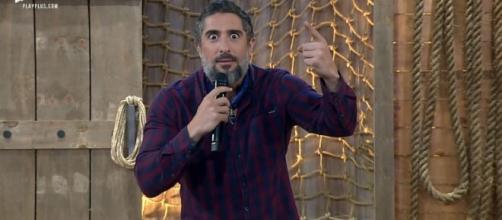 Marcos Mion anuncia roça com 5 peões nessa semana. (Arquivo Blasting News)