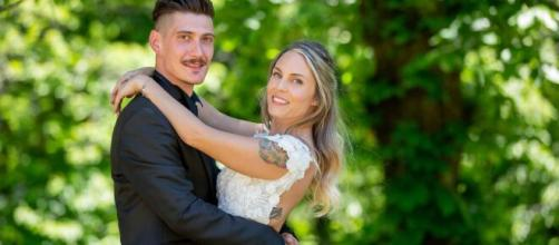 Matrimonio a prima vista, Luca e Giorgia non stanno più insieme: lei avrebbe ferito lui.