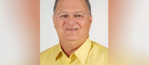 O candidato eleito estava internado tratando coronavírus. (Reprodução/TV Globo)