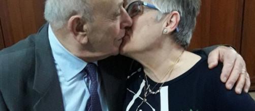 Vincenzo y Olga, un amor de más de 60 años, trunco por el coronavirus.