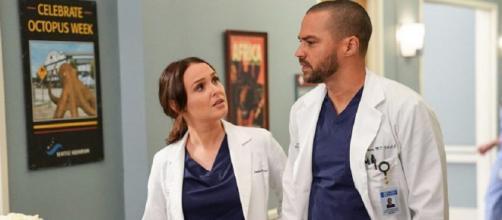 Camilla Luddingoton ha commentato la scena tra Jo e Jackson mostrata nel primo episodio di Grey's Anatomy.
