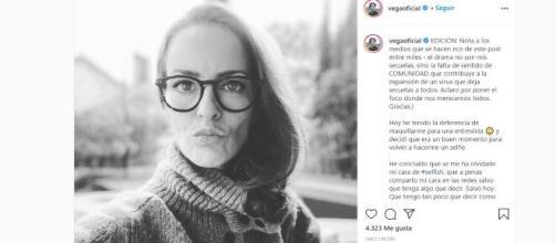 FUENTE: Cuenta de Instagram de Vega de OT