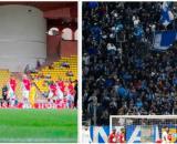 Monaco plus populaire que l'OM, le classement de l'Observatoire du Sport Business buzz. Photo Montage