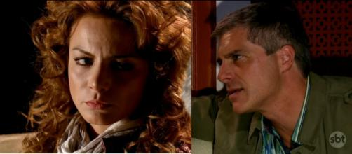 Augusto não desiste de Renata. (Televisa)