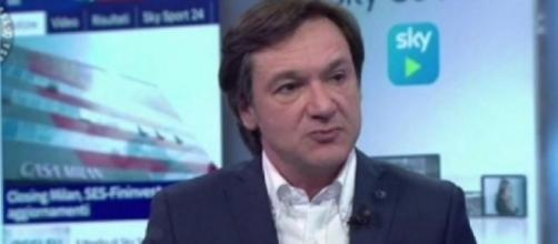 Fabio Caressa, giornalista sportivo di Sky Sport.