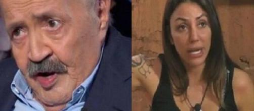 GF Vip, Maurizio Costanzo critica Selvaggia Roma: 'Sembra una scappata di casa'.