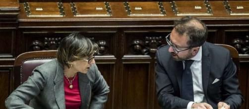 Giulia Bongiorno positiva al coronavirus accusa Alfonso Bonafede.