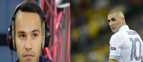 Karim Benzema a été insulté sur les ondes d'RMC. Mohamed Bouhafsi a dû réagir. (Montage photo)