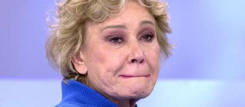 Mila Ximénez se rompe en llanto al hablar del dolor que debe sentir Ana Obregón por la muerte de Alex