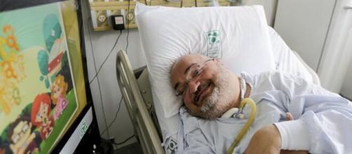 Paciente morava em hospital de São Paulo. (Arquivo Pessoal)