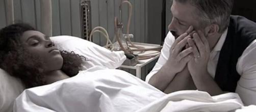 Una vita, trame Spagna: Marcia rischia di rimanere paralizzata ma si salva grazie a Genoveva.