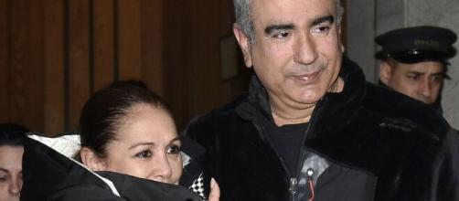 Agustín Pantoja con Isabel Pantoja