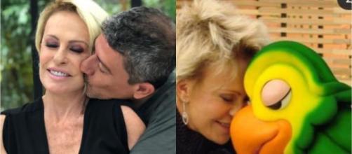 Ana Maria Braga lamentou a morte de Tom Veiga, intérprete do Louro José. (Arquivo Blasting News)