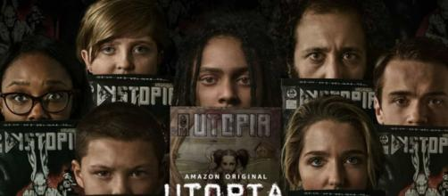 Arte da série 'Utopia', da Amazon Prime Video. (Arquivo Blasting News)