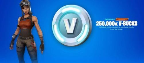 Epic Games is giving away free 'Fortnite' V-Bucks. [Image Source: OnMySky / YouTube]