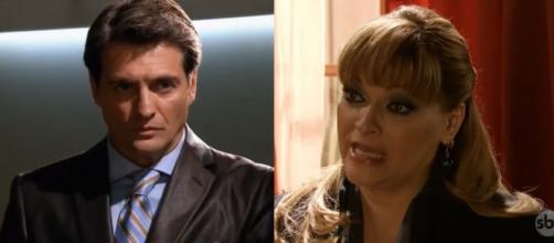Jerônimo se dá conta de que Josefina é a assassina de Rafael. (Televisa)