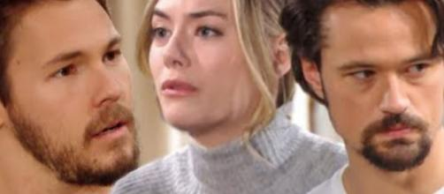 Beautiful, spoiler americani: Liam scappa da Steffy dopo aver visto Thomas baciare Hope.