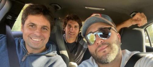 Cayetano, Fran y Kiko Rivera se saltan el confinamiento de Andalucía.