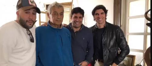 El viaje de los tres hermanos Rivera a visitar al tío enfermo se vio envuelto en la polémica del cierre perimetral.