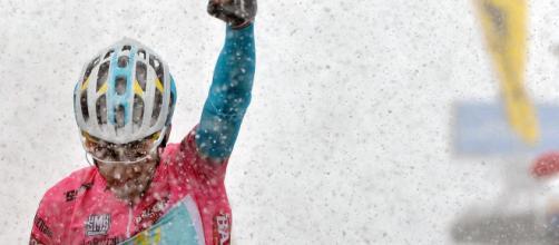 La vittoria di Nibali alle Tre Cime di Lavaredo nel Giro d'italia 2013