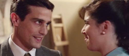 Stefania spera di conquistare Federico.