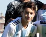 Matias Soulé, trequartista della Juventus Primavera.