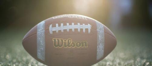 A close-up shot of a football. [Image via Mathias Eriksson - Pixabay]