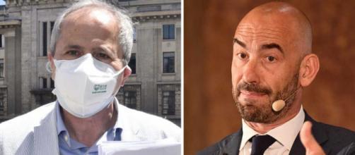 Andrea Crisanti criticato anche da Matteo Bassetti per le sue posizioni sul vaccino.
