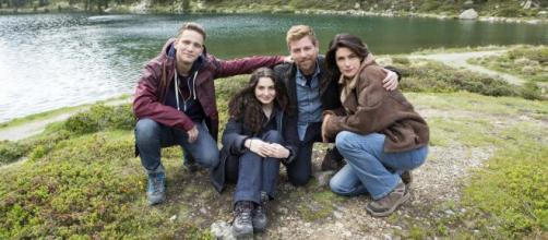 Anna Valle e Claudio Gioè sono i protagonisti della serie Vite in fuga, su Rai1 dal 22 novembre.