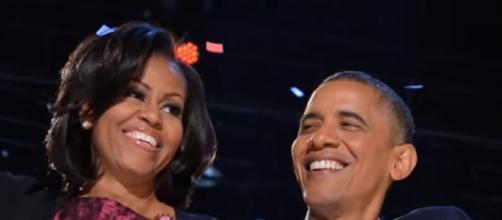 Barack Obama launched his new book 'A Promised Land' [Image source/Entertainment Tonight YouTube video]