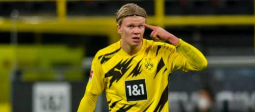 Erling Haaland golden boy 2020 - photo capture d'écran instagram Erling Haaland